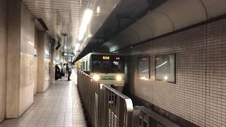 仙台市営地下鉄南北線 1000N系 仙台駅入線から発車まで