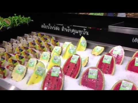What a fruitarian in Thailand eats in one day