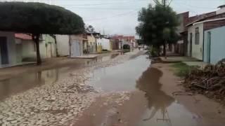 Russas: Comunidade da Vila Matoso, fica um mar D´água com a chegada do inverno.