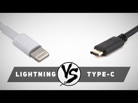VERSUS: USB Type-C против Lightning. Что лучше?