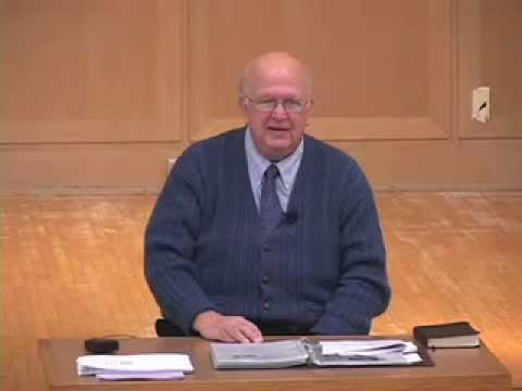 The Doctrine of the Church (Ecclesiology), Part 1 - David Glock (Emmaus Bible College)