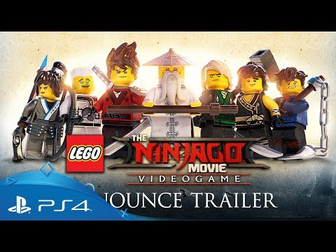 The LEGO NINJAGO Movie Video Game | Announce Trailer | PS4