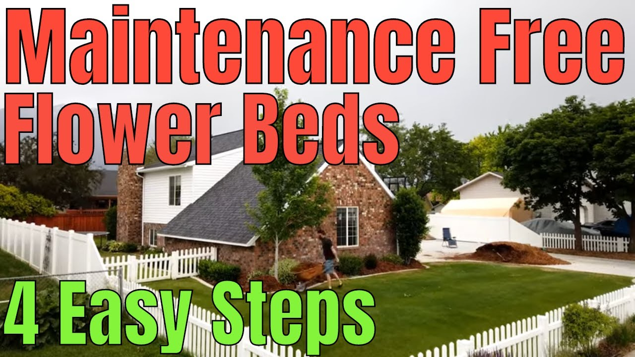Download DIY How to have a weed free flowerbed - 4 easy steps to get weeds out of flower beds