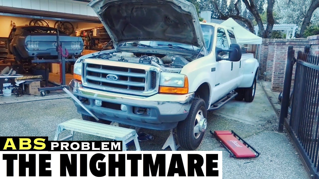 2001 F350 7 3 Abs Light Issues Fix The Nightmare Problem Repair Using Wifi Obd2 Scanner And Iphone Youtube