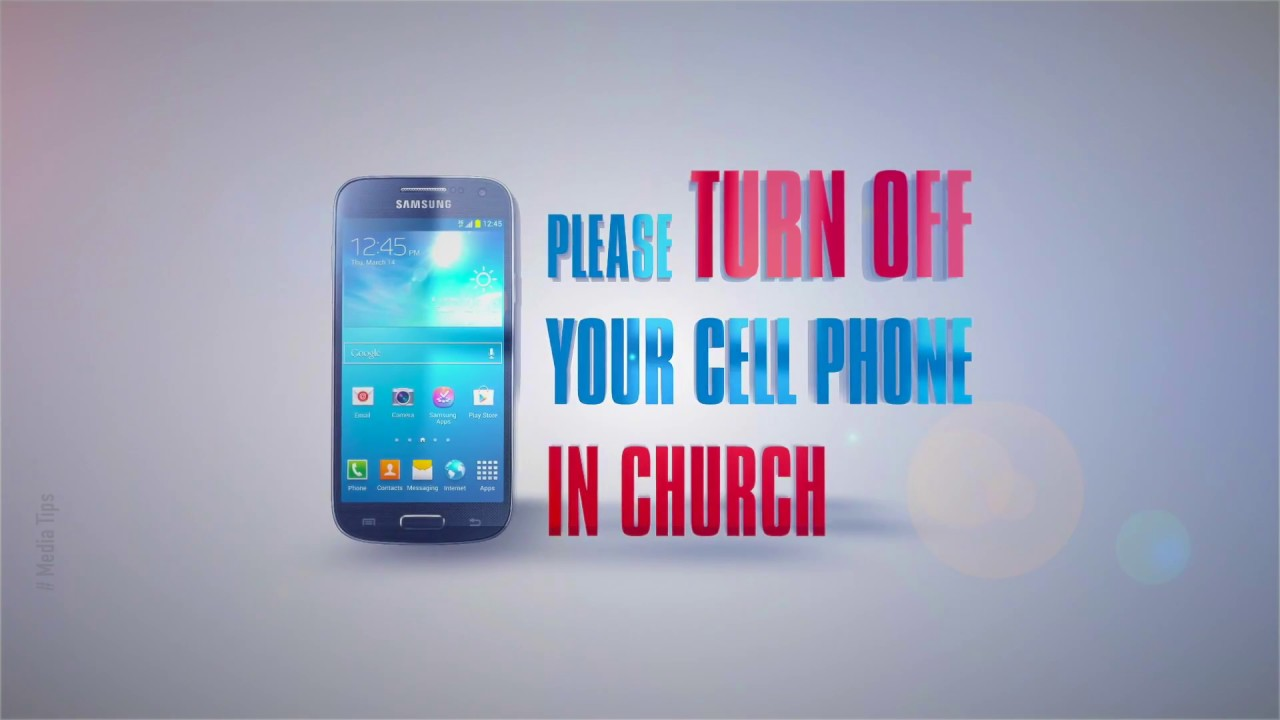 Completely new Turn Off Your Cell Phone | Motion Videos for Church - YouTube GT82