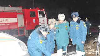Авария на НПЗ в Рязани
