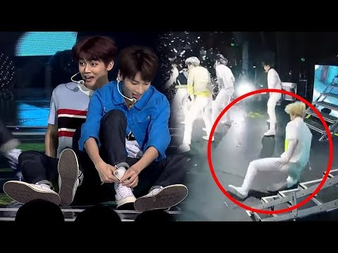 HOW TXT HANDLES STAGE ACCIDENTS/MISTAKES