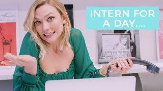 Interning at My New Job | Karlie Kloss