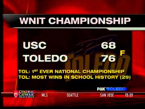 Shafir scores 40 as Toledo tops USC for WNIT title