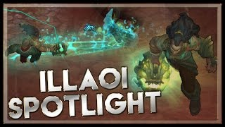 Illaoi, the Kraken Priestess Spotlight - League of Legends