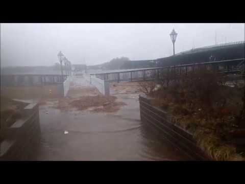 Bomb Cyclone Coastal Flooding - Newburyport, MA