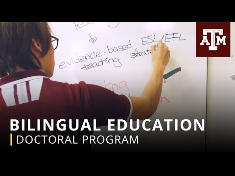 Texas A&M Graduate Programs: Bilingual Education