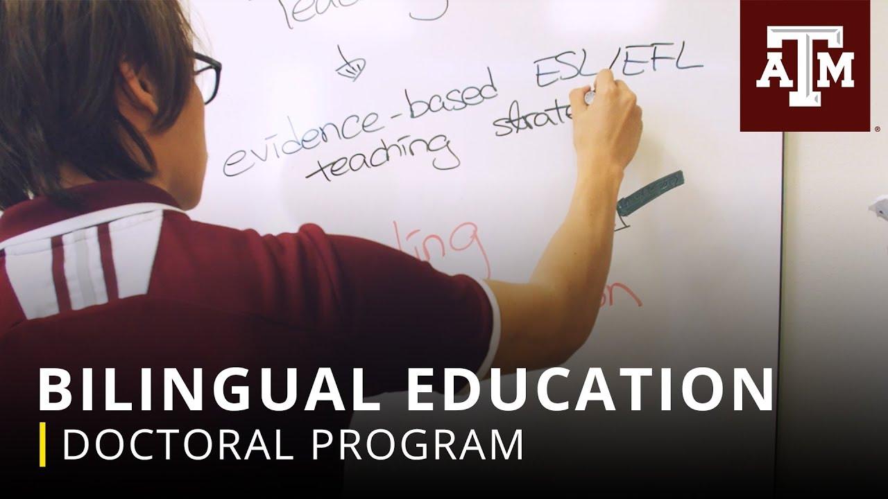 Doctoral Program: Bilingual Education - YouTube