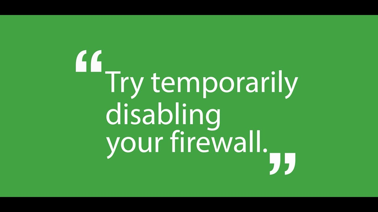 StudentCom - How to Disable a Firewall - YouTube