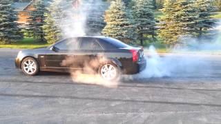My fist Burnout 2006 Cadillac CTS-V