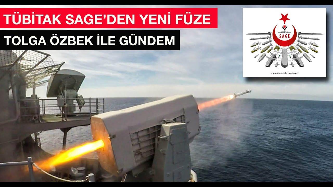 TÜBİTAK SAGE'den yeni füze G-40... Tolga Özbek ile gündem