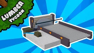Simplest 1x1 Automatic Sawmill Setup in Lumber Tycoon 2! | Roblox