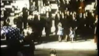 The Funeral of John F. Kennedy in color