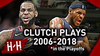 Check out the best possible clutch plays: shots, dunks, blocks, game-winner buzzer beater shots by LeBron James during his NBA career in the playoffs ...