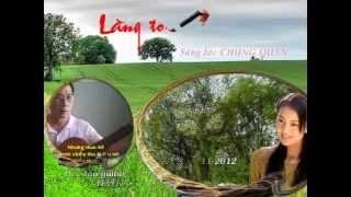 LÀNG TÔI   Sáng tác Chung Quân Độc tấu guitar by Hatka mp4   YouTube