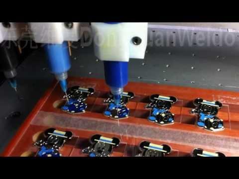 WELDO Automatic Enamel Dsipenser Machine For Metal Badge
