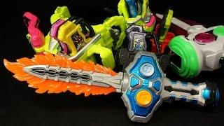 仮面ライダーエグゼイド 爆炎氷結 DXガシャコンソード Kamen Rider Ex-Aid DX Gashacon Sword thumbnail