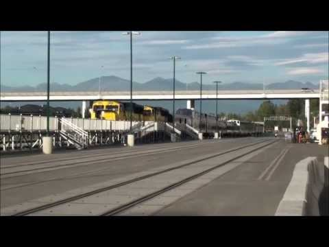 Alaska Diesel Train 4319+4325