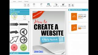 Online Easy Ebook Cover Creator 2017 100% Free