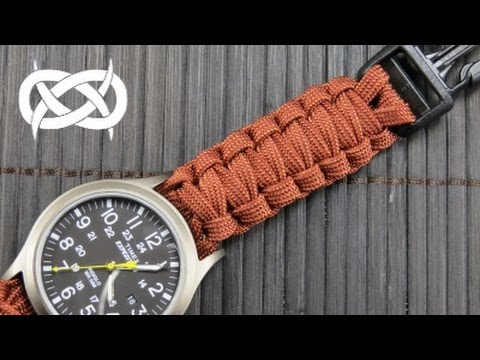How to make a (Gutted) Solomon Paracord Watch Band