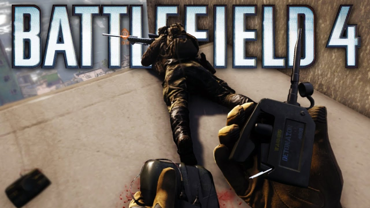 Battlefield 4 - Random Moments 43 (Poor Teammates, KillCam Dancing ...