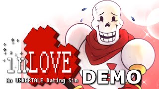 InLOVE: An Undertale Dating Sim - DATING PAPYRUS (Demo/Fangame), Manly Let's Play