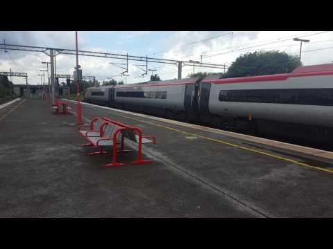 Trains at Birmingham International WCML RBS Branch 25/6/16