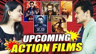 UPCOMING ACTION FILMS Of Bollywood   Race 3, Thugs Of Hindostan, 2.0, Taanaji