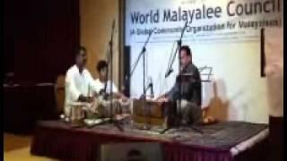 Usman Telicherry - Ghazal LIVE - World Malayalee Council - Dubai