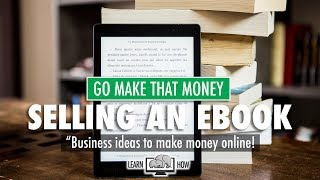 In this episode, you'll learn how to create and sell an ebook online! selling ebooks is a great way make money online. there are many benefits ...