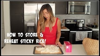 How to *reheat* STICKY RICE | House of X Tia