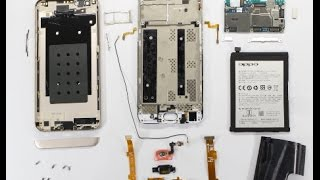 OPPO F1s Teardown -- Disassembly and reassembly Video