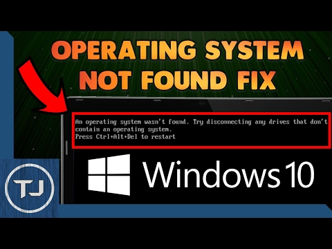 How To Fix: An Operating System Wasn