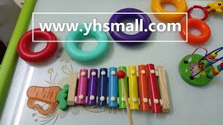 Colorful 8 Tones Hand Knock Xylophone With 2 Wooden Mallets --inspire Children's Talent For Music!