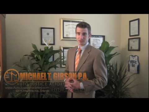 Orlando Florida Slip and Fall Accident Attorney Michael T. Gibson