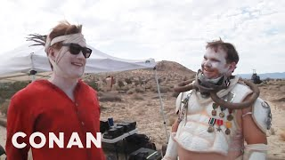 "Behind The Scenes Of Conan's ""Mad Max"" Comic-Con® Cold Open  - CONAN on TBS"
