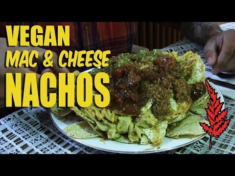 Vegan NACHOS recipe - The Red Fern VEGANTRAVEL#12