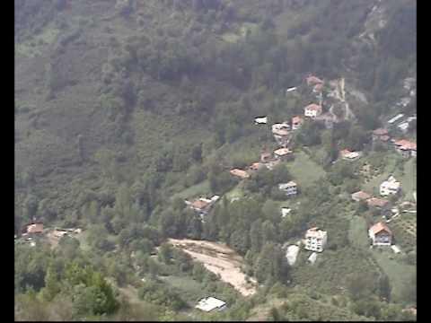 tekkeönü godaman tepesinden çayaltı köyü ve dereköy.avi