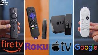 TOP 5 STREAMING STICKS 2020 - (Fire TV vs Apple TV vs Roku vs Chromecast vs...)