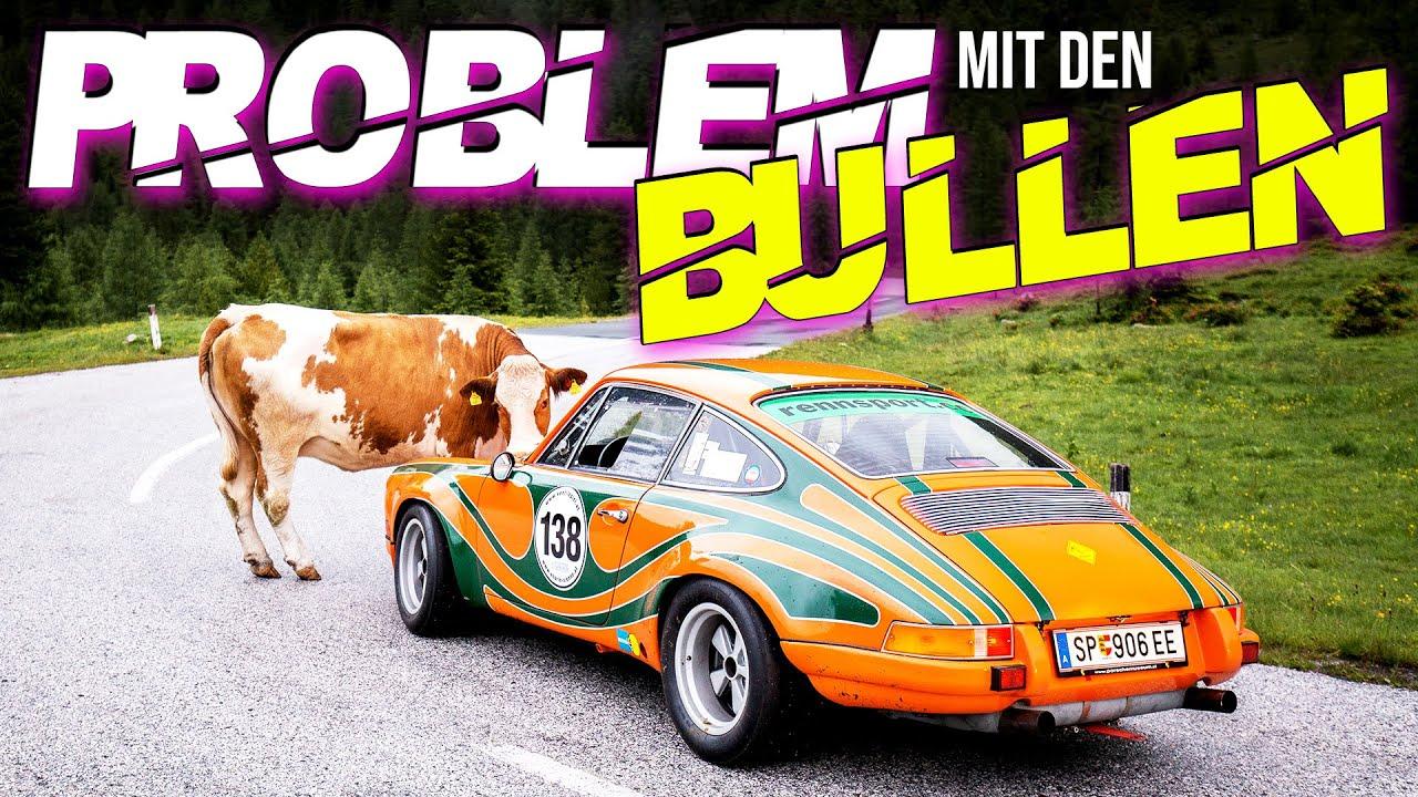 Problem mit den Bullen   Porsche Museum Gmünd   RINGPOLICE