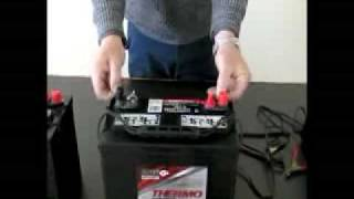 12 volt battery charging procedure