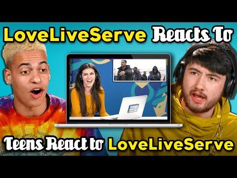 LoveServe Reacts To Teens React To LoveServe When The   Doesn&39;t Match The Song