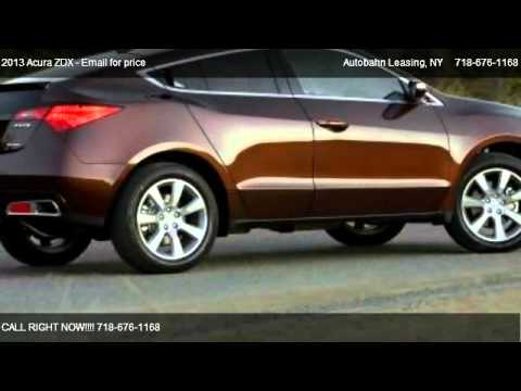 2013 acura zdx base for sale in brooklyn ny 11223 youtube. Black Bedroom Furniture Sets. Home Design Ideas