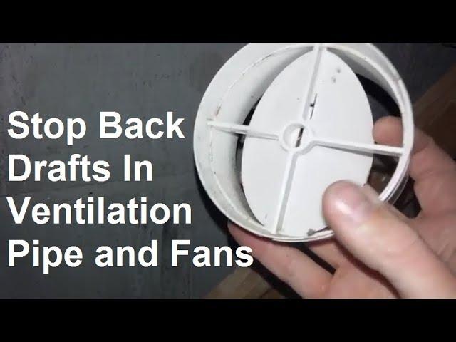 ventilation extractor fan backdraft