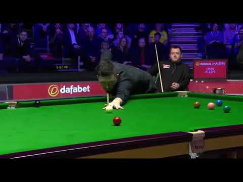 Spectator Disturbs Snooker Player 3 Times! Masters 2018 Moment